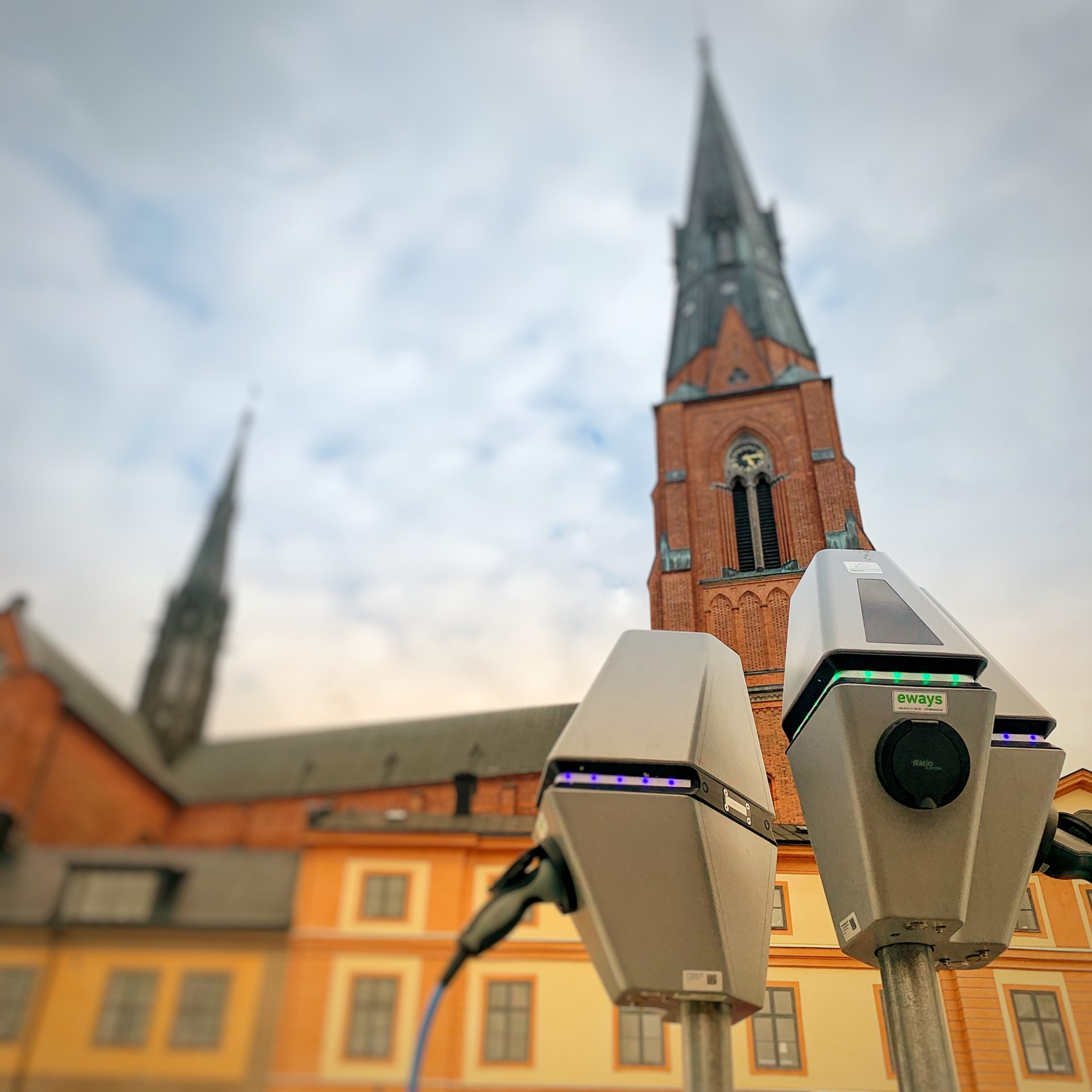 Laddstation Uppsala